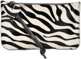 Clutches tasje Koeienhuid zebraprint