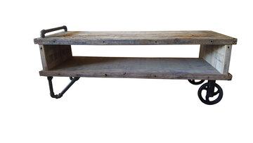 Salontafel Industrieel RAW Design 140 x 50