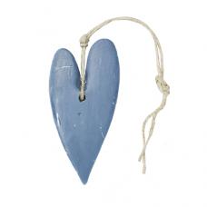 ZEEP hart XL donker blauw 123821