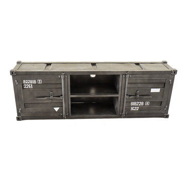 Tv dressoir storage Industrieel 180x40x60
