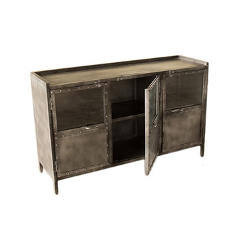 Tv dressoir iron Industrieel 130 x40x 80