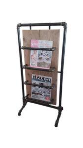 Tijdschriften houder Industrieel 100 x 50