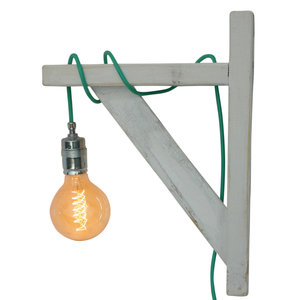 Hippe wandlamp