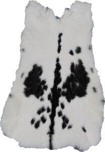 konijn zwartwit