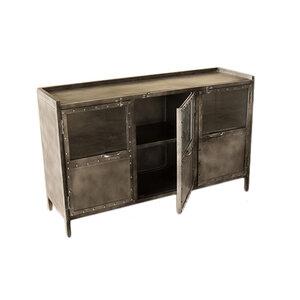 TV meubel iron 130x40x 80h