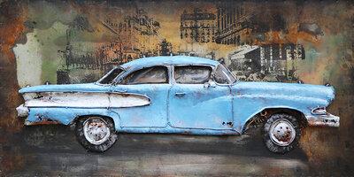 Oldtimer blue